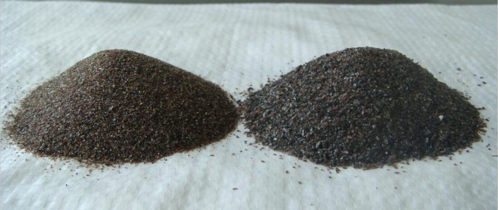 sandblasting brown fused alumina